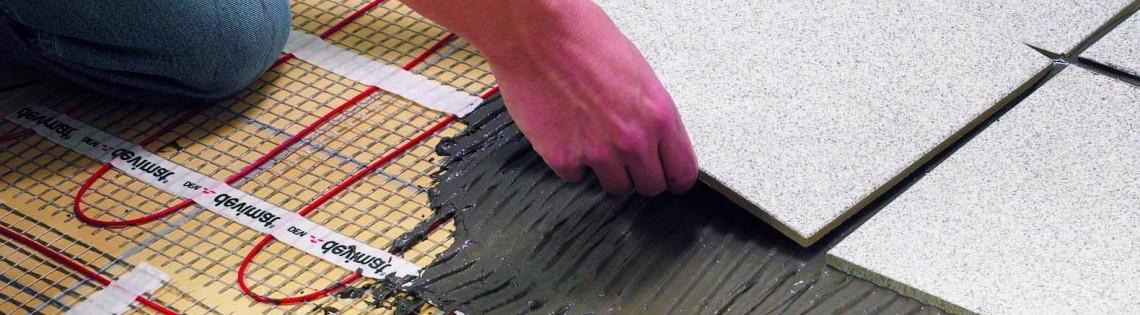 'Инструкция по выбору и использованию плиточного клея для пола с подогревом
