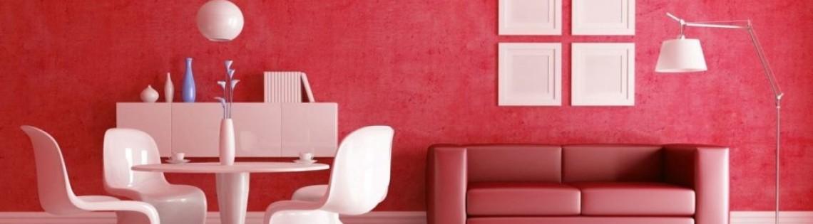 'Правильное сочетание и использование в дизайне интерьера красного цвета