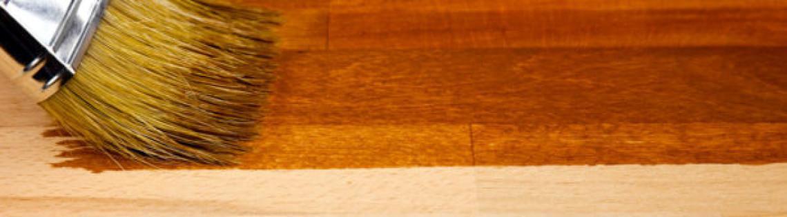 'Применение акриловых составов на водной основе для лакирования дерева