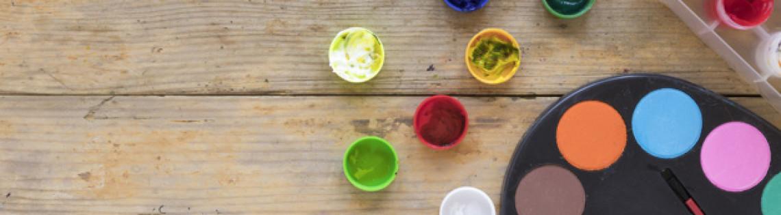 'Как правильно использовать гуашь и ПВА вместо акриловой краски