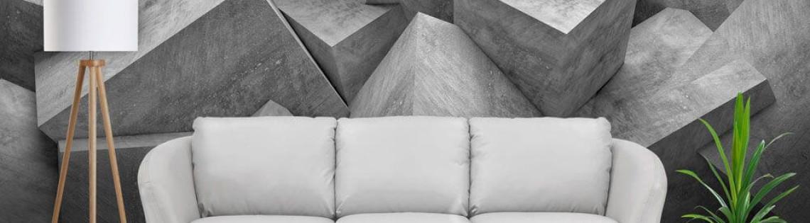 'Как можно использовать обои в стиле 3Д в дизайне интерьеров
