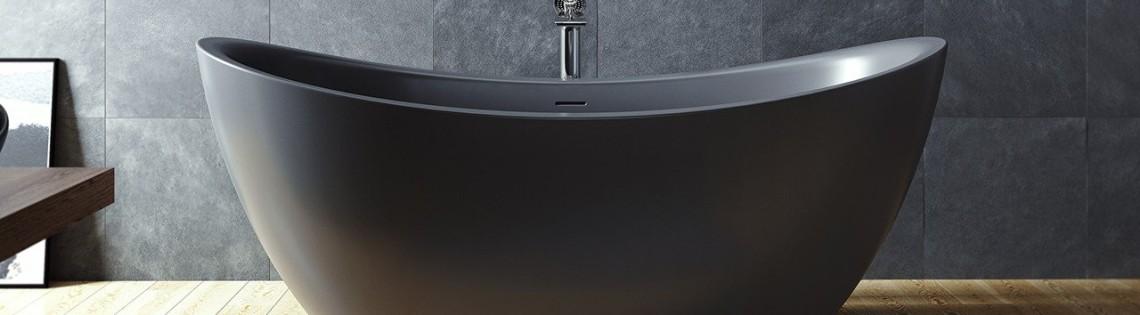 'Применение оттенков серого в интерьере ванной комнаты
