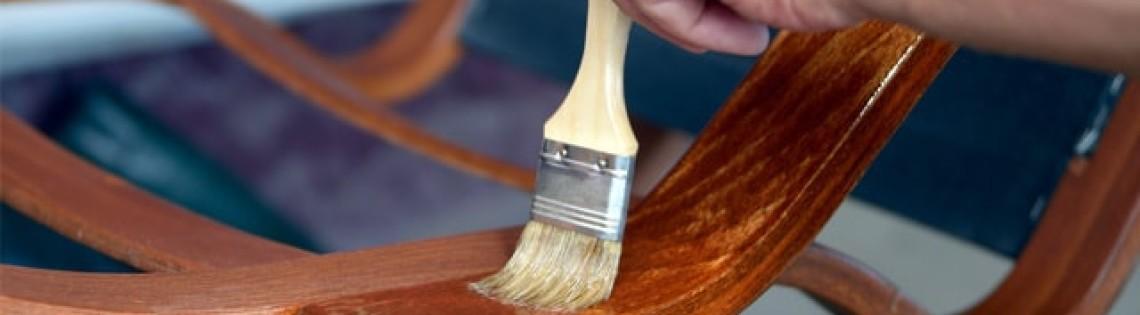 'Как правильно выполнить покрытие мебели лаковым составом