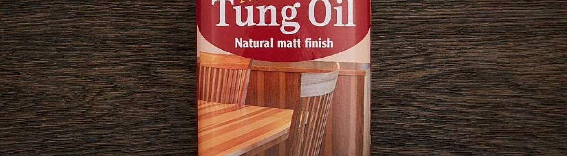 'Выбор, свойства и особенности нанесения тунгового масла
