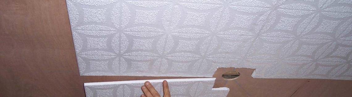 'Порядок эксплуатации клеевых средств для потолочного пенопластового плинтуса