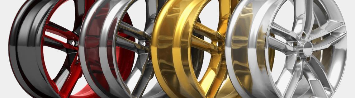 'Какие есть виды краски для шинных дисков автомобиля и способы ее нанесения
