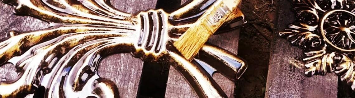 'Окрашивание патиной деревянных объектов и изделий из металла
