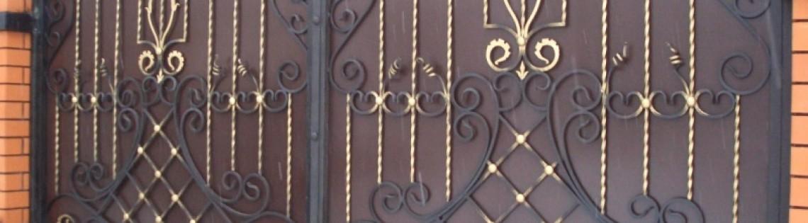 'Как окрасить ворота из металла самостоятельно