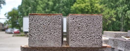 'Особенности дренажного бетона, пропускающего воду