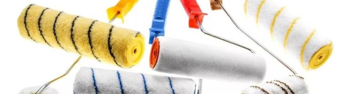 'Какие бывают валики для водоэмульсионных красящих составов