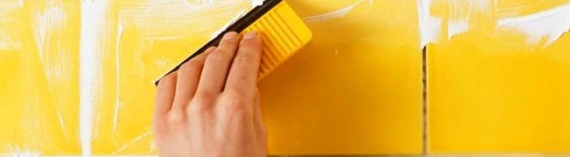 'Какую затирку выбрать для обработки швов между плиткой