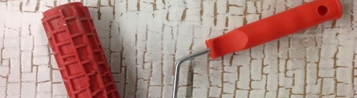 'Как сделать декоративный валик для стен своими руками