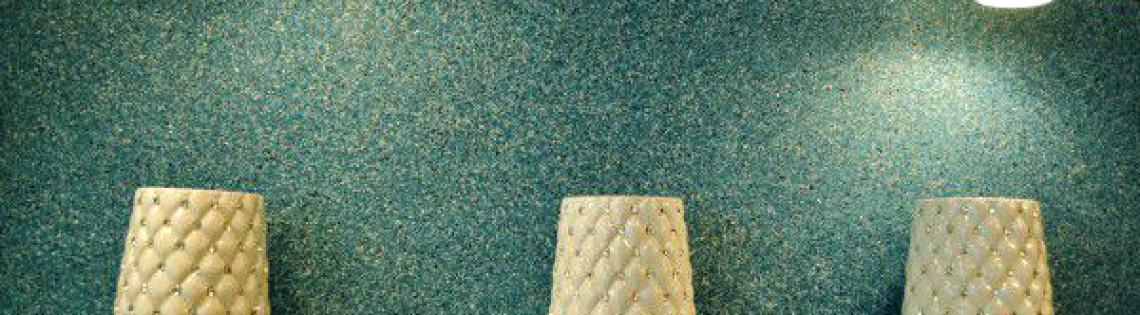 'Использование мозаичного красящего состава в современном интерьере