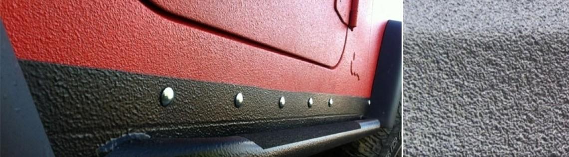 'Качественная защита днища автомобиля при помощи антигравия Body 950