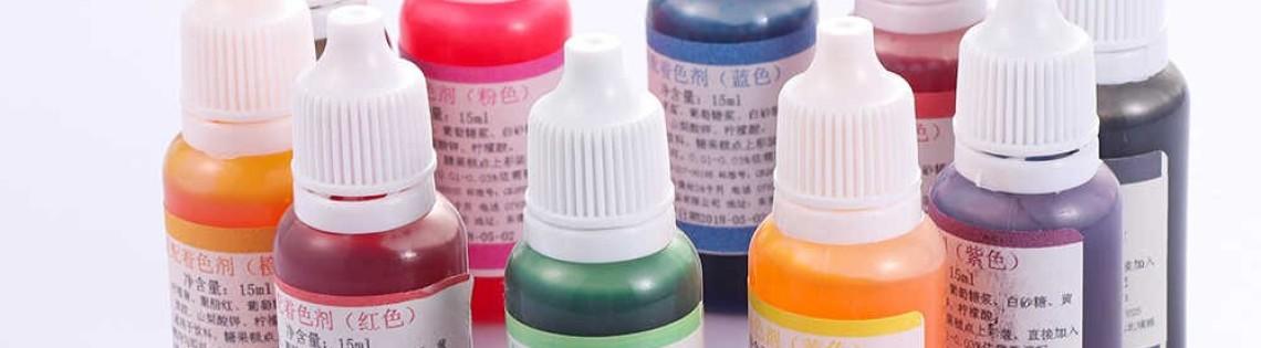'Применение красителей для окраски эпоксидок