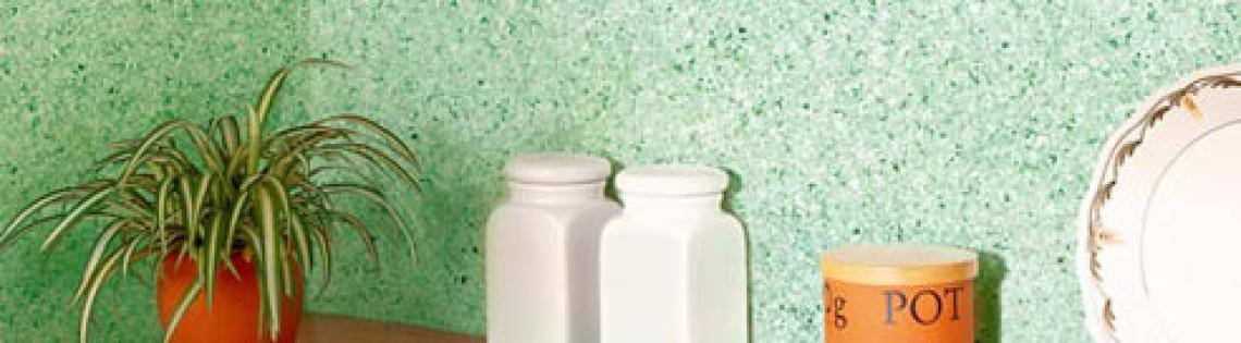 'Новая разновидность декорирования стен – флоковое покрытие