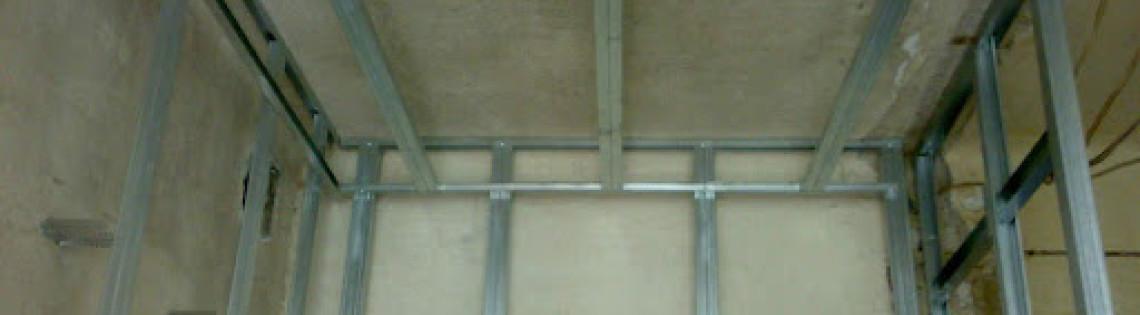'Поговорим о технологии наклеивания гипсокартона к поверхности стены