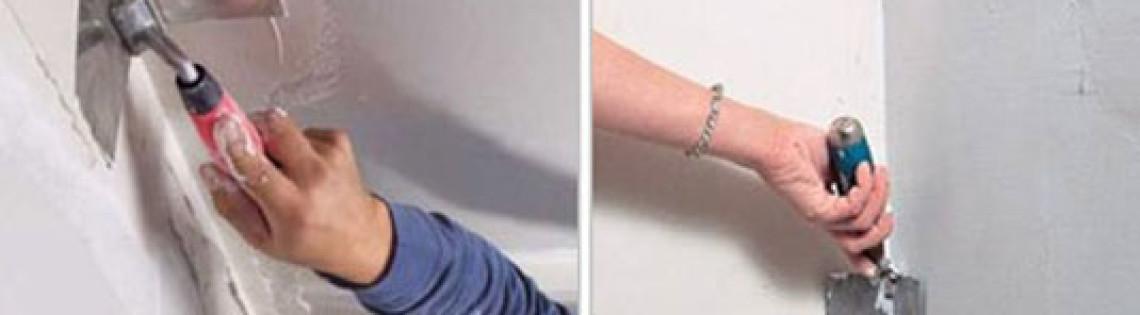 'Как нужно правильно шпаклевать внутренние и наружные углы стен