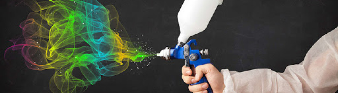 'Поговорим про работу и типы краскопультов для нанесения водоэмульсионки