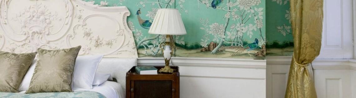 'Как используют тиффани в дизайне интерьера разных помещениях