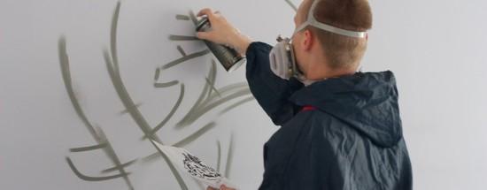 'Правильно подбираем и используем краски для росписи поверхности стен