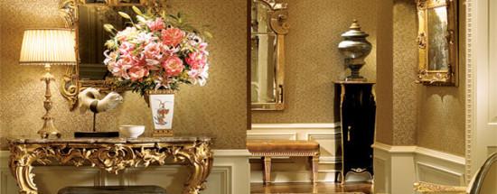 'Золотой цвет, его характеристики и оттенки в интерьере