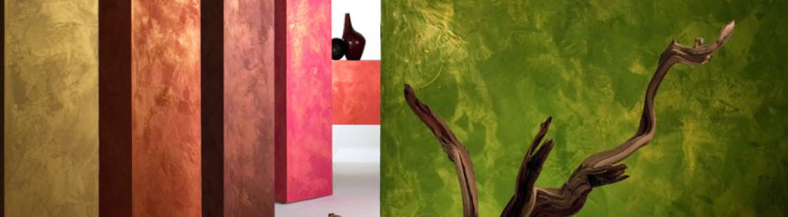 'Как можно создать разнообразные эффекты на поверхности стен с помощью ЛКМ