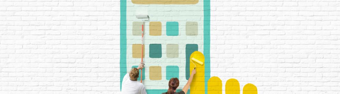'Рассчитываем расход лакокрасочного средства на основание стен и потолков
