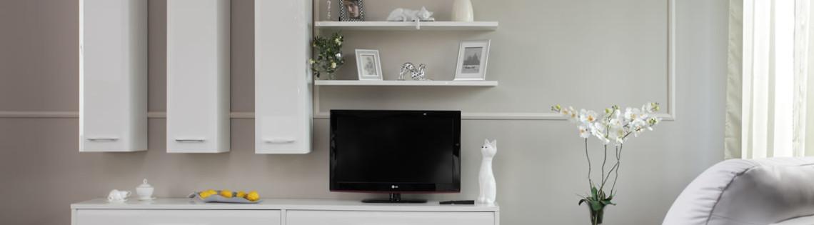 'Варианты использования белой мебели в интерьере