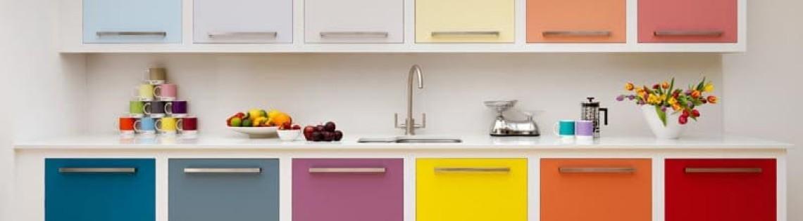'Как выбрать подходящую краску для кухонного помещения