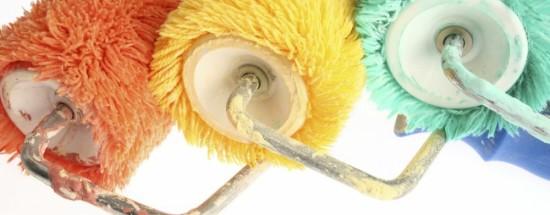 'Как подобрать надёжный валик, чтобы провести покраску стен и потолка