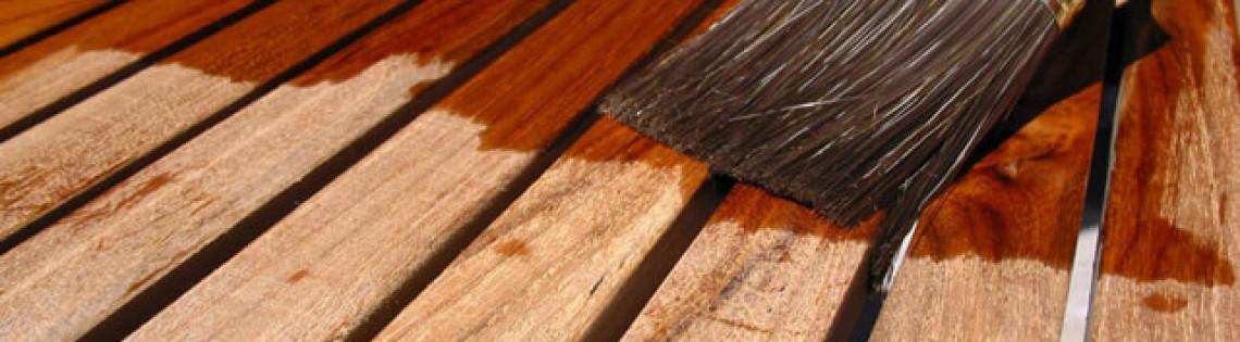 'Как подобрать лакокрасочный материал для террасной доски