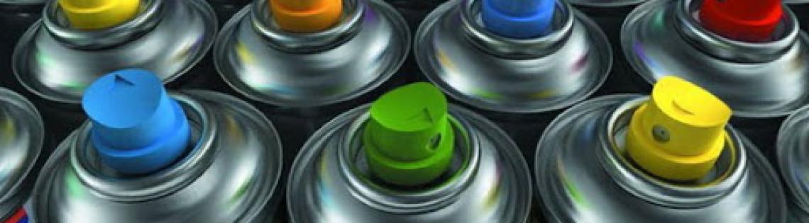 'Как выбрать аэрозольную краску для окрашивания металлоконструкций