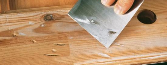 'Технология шпаклевания деревянных поверхностей перед покраской
