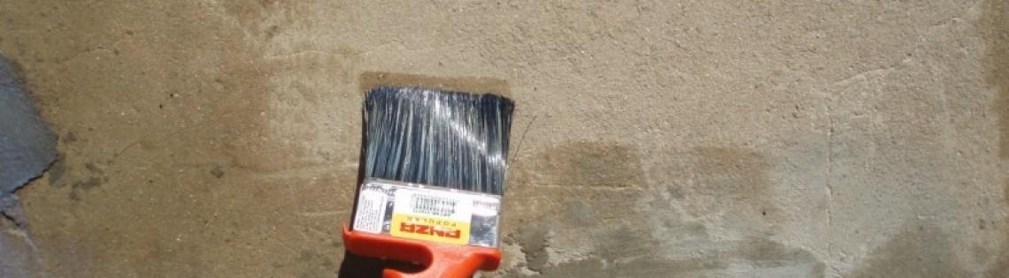 'Выбор и правила применения грунтовки для фасадных работ