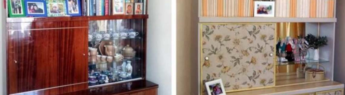 'Как можно обновить цвет полированной мебели без помощи специалистов