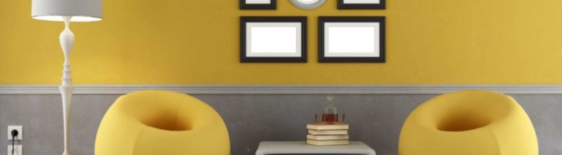 '8 идей  для покраски стен в два цвета и правила их воплощения