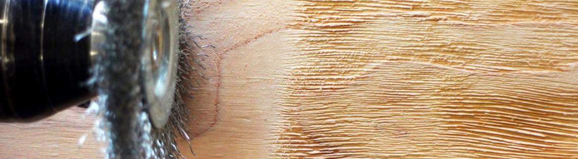 'Как выбрать щетку для браширования древесины в домашних условиях