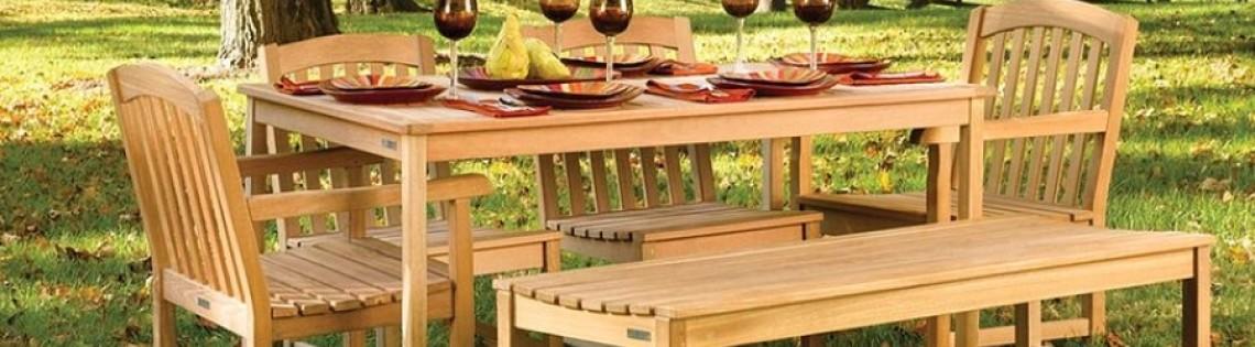 'Как выбрать масляный состав для защиты парковой и садовой мебели