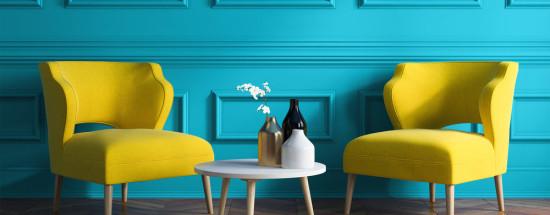'Бирюзовый цвет и его варианты в интерьере, рекомендации и сочетания тонов