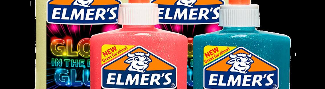 'Удивительный клей для игрушек-лизунов «Элмерс»
