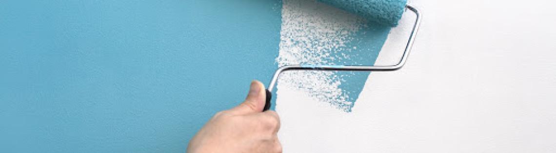 'Как избавиться от следов краски на валике