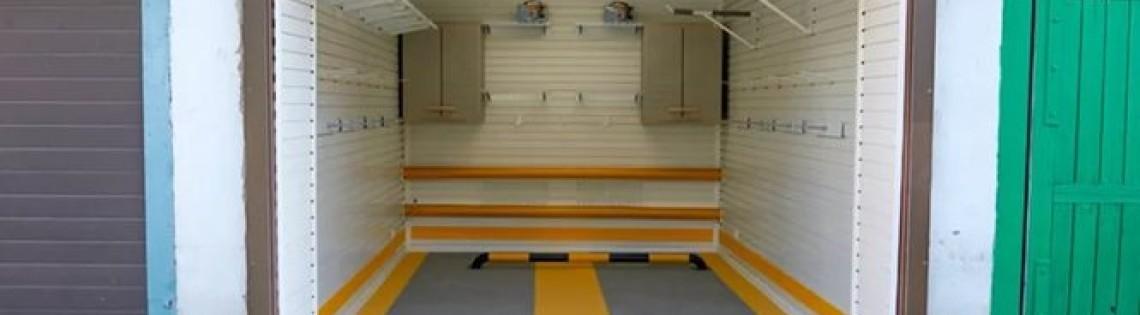 'Как и чем провести окрашивание гаража внутри и снаружи