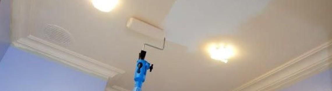 'Подбор инструментов для окрашивания потолка акриловым составом