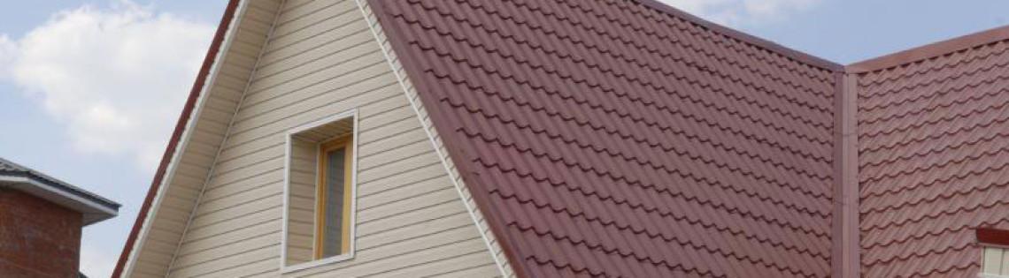 'Какой техникой покраски обработать фронтон дома и как выбрать состав