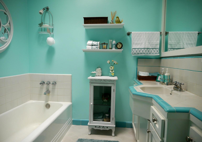 Сочетания в ванной комнате