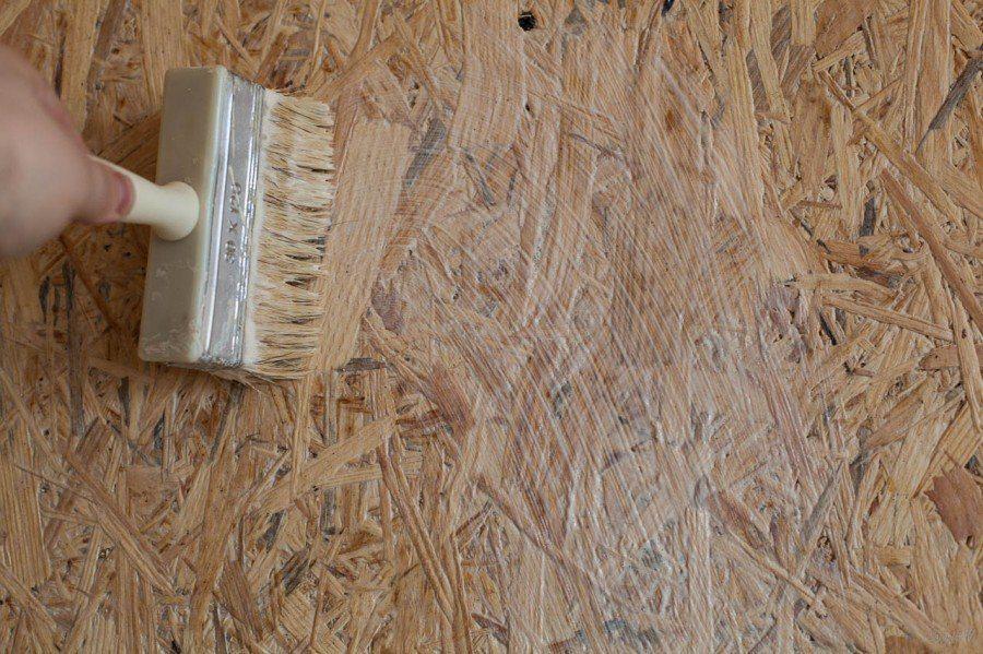 Обработка фанеры грунтовкой