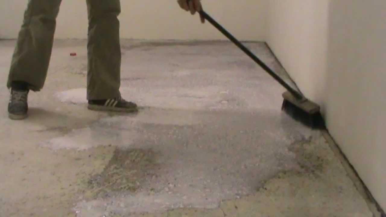 Что дает грунтовка бетонных оснований