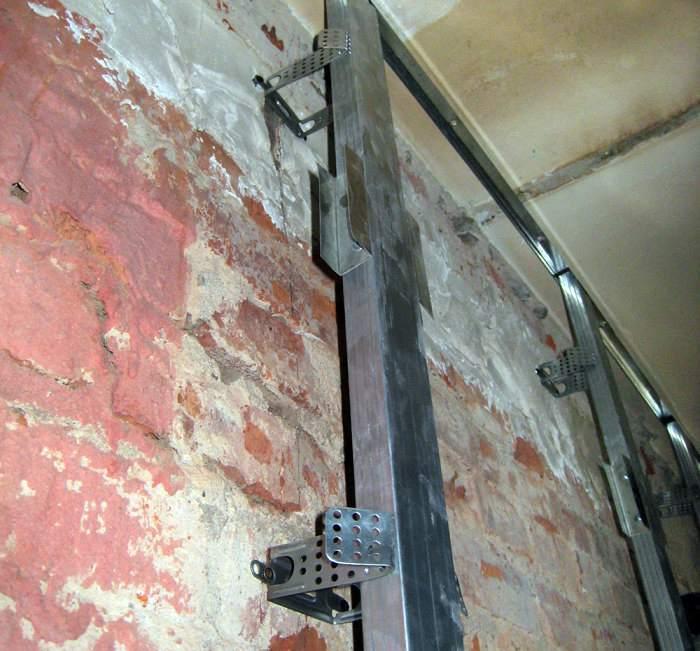 гипсокартон на стену из бетона