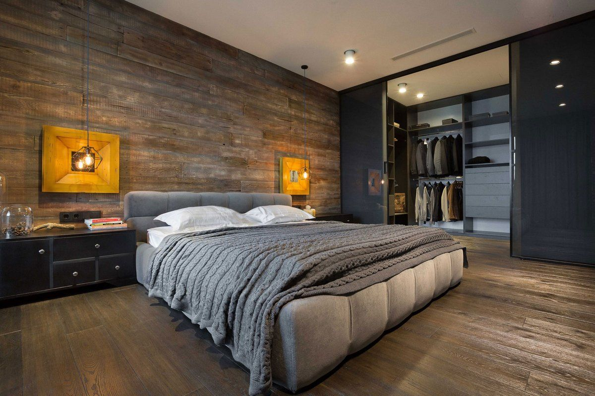 холостяцкая спальня